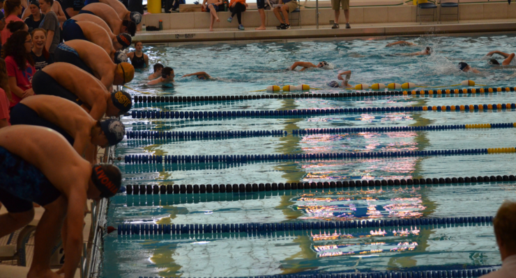 Livonia Swimmers Participate in Supporting Childhood Cancer Research Make Some Noise Charity Meet