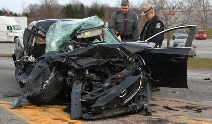 Avon Truck Crash Critically Injures Driver
