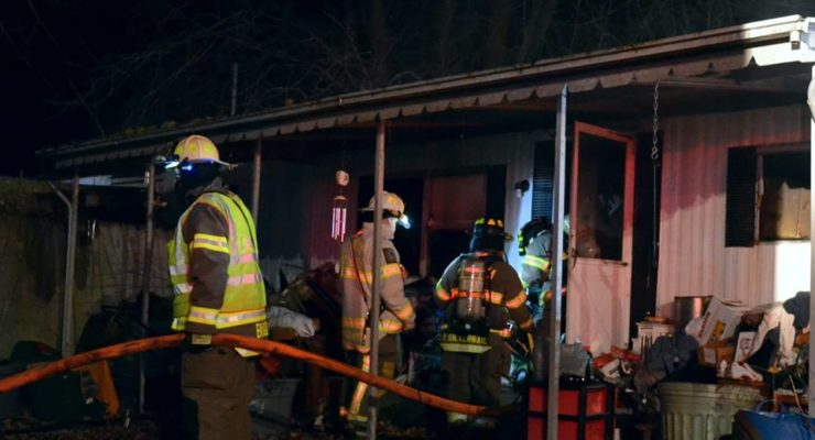 Firefighters Snuff Lakeville Trailer Fire