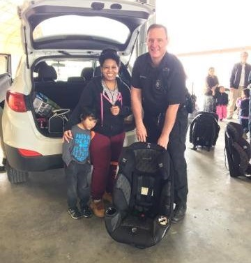 TRAFFIC SAFETY EDUCATION PROGRAM PURCHASES CHILD SAFETY SEATS WITH DONATION