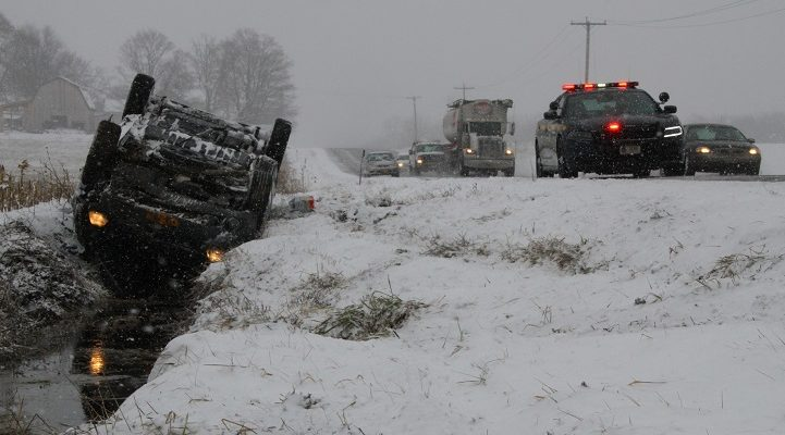Bad Roads Cause Multiple Accidents in Livingston County