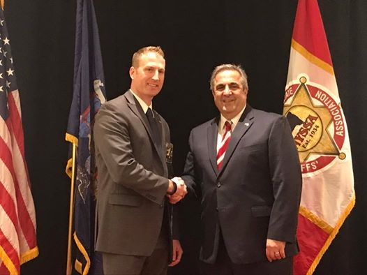 NYSSA Elects Sheriff Dougherty as Sgt.-At-Arms