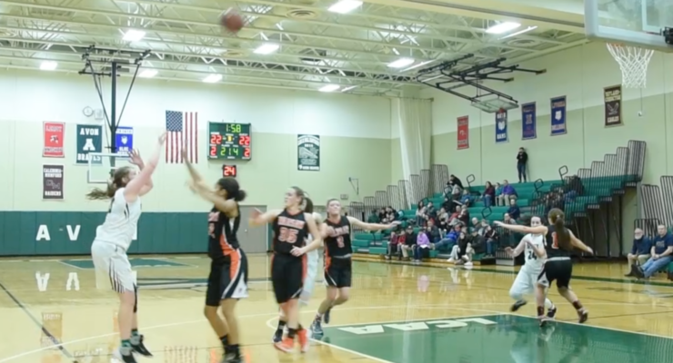 SUN VIDEO: Braves Defeat Tigers in Girls Basketball