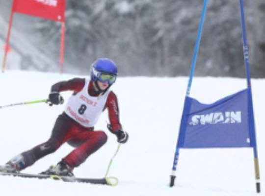 SKIING: Simpson Picks up Fastest Time for Livonia