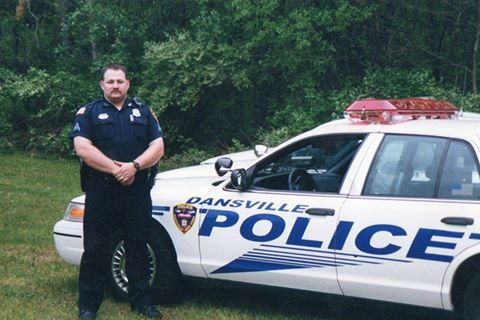 25th Service Anniversary 'Just Another Day' for Dansville Officer Faugh