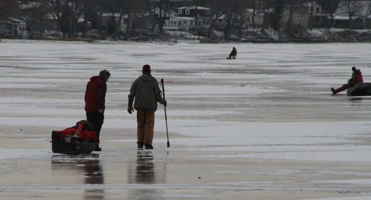 First Responders Rescue Injured Ice Fisherman at Vitale Park
