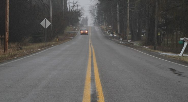 Ice to Slick Livingston County Roads Into Monday