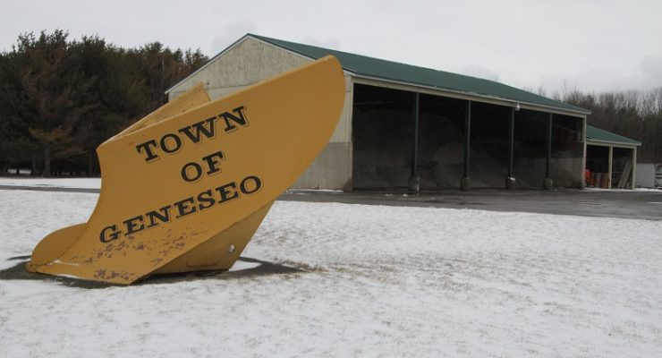 NYS Grants Geneseo $234K for Greener Salt Storage House