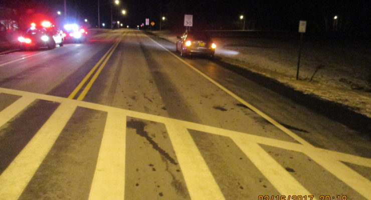Car Strikes SUNY Geneseo Student