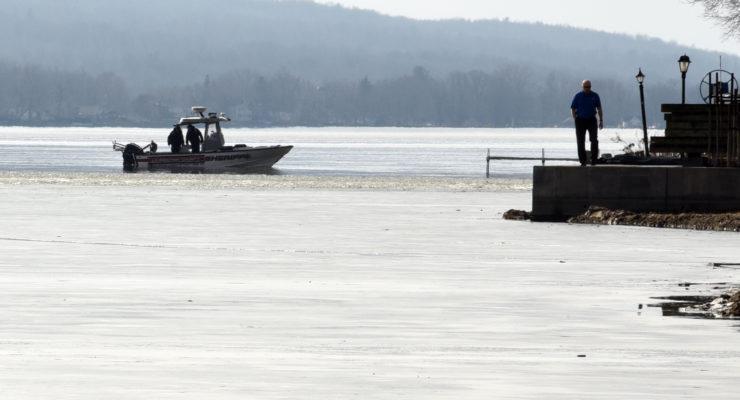 Searchers Find Lost Men's Snowmobile in Conesus Lake