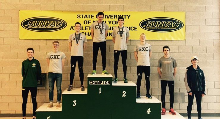 SUNY Geneseo Indoor Track And Field Sweep SUNYACS