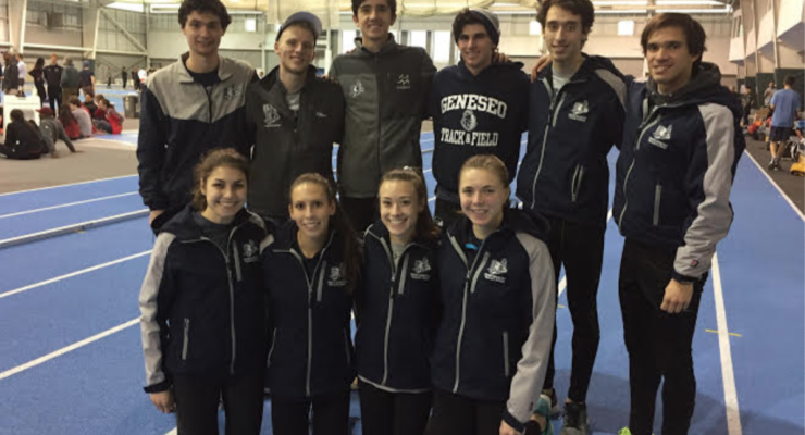 SUNY Geneseo Indoor Track And Field Preps For SUNYACS With More Records