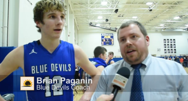 SUN VIDEO: Geneseo Advances to Finals with Victory Over Lyons 59-58