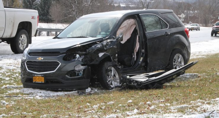 Violent Squall Causes Head-On Nunda Crash