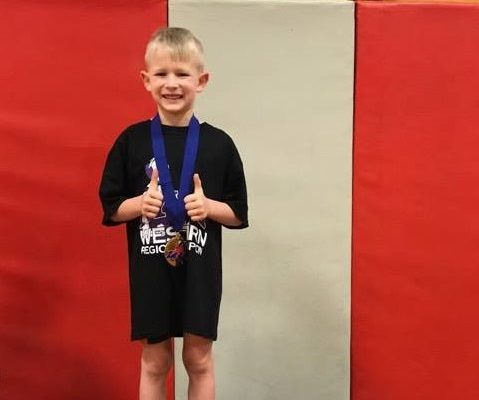 Conesus 6-Year-Old Wrestles for State Championship
