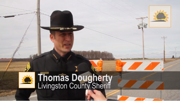 SUN VIDEO: Sheriff Dougherty Talks Wind Storm Aftermath