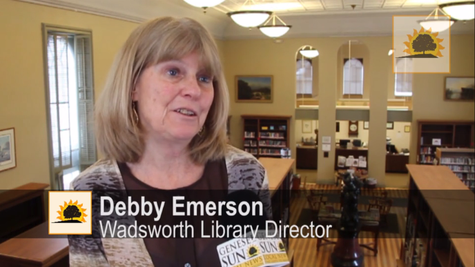 SUN VIDEO: Debby Emerson Starts New Chapter as Wadsworth Library's Next Director