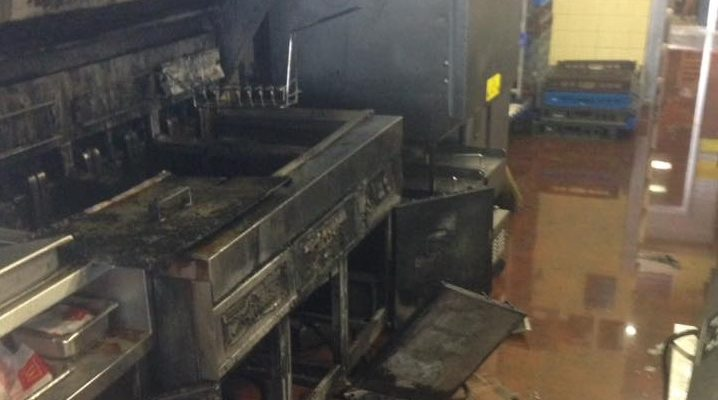 Dansville Firefighters' Quick Action Saved McDonald's from Grease Fire
