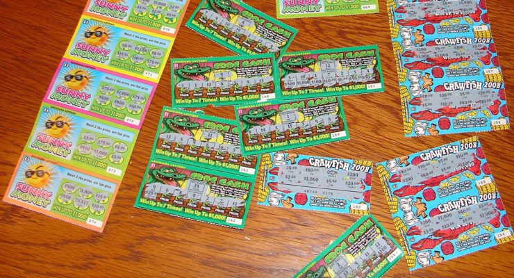 Cops Cuff Dansville Employee for Swiping $8.6K in Scratch Off Tickets
