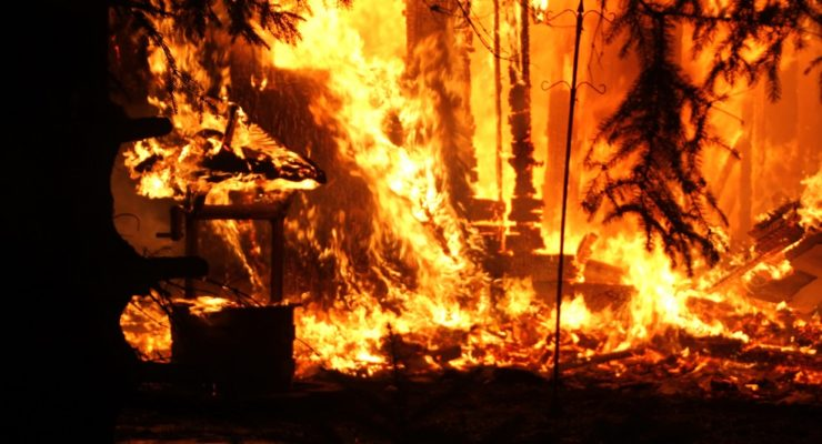 Avon Fire Destroyed Friendly Truckers' Home