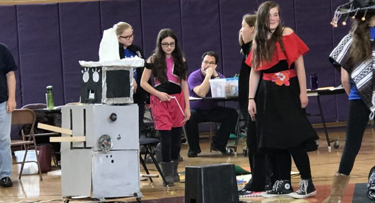 SUN VIDEO: Odyssey of the Mind Takes Flight in Regional Competition