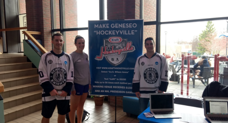 SUNY Geneseo's Ice Arena Shoots Hard for $150K Prize