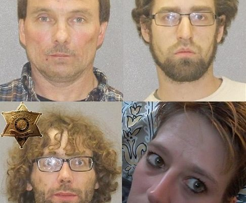 4 Busted for West Sparta Meth Ring Could Face Life in Prison