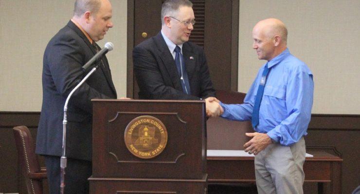 Geneseo Teacher Wins County Earth Day Award