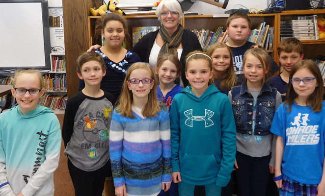 $1K DKG Grant Gives St. Agnes Kids Storytime with Local Literary Artists