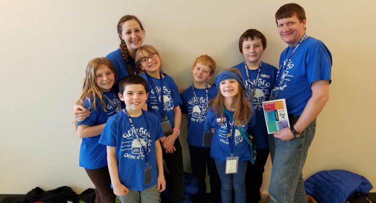 Geneseo and York Odyssey of the Mind Qualify for World Championship