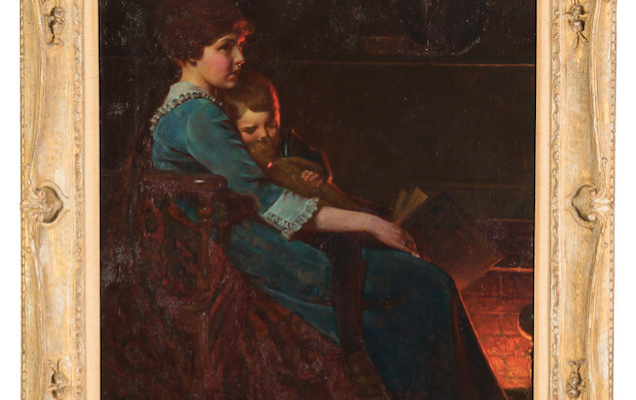 Original Norman Rockwell Sells for Over $109K in Geneseo