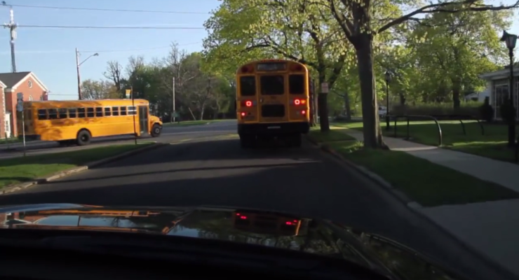 SUN VIDEO: More Cops Watch Bus Traffic During Operation Safe Stop