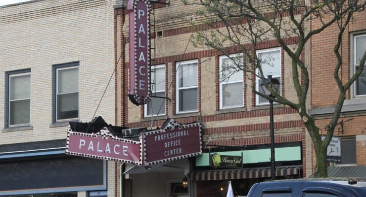 Despite Damage, Geneseo's Iconic Palace Marquee 'Isn't Going Anywhere'