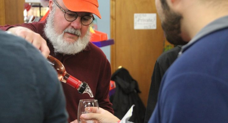Patrons Taste the Region's Treats at Geneseo Wine Stroll