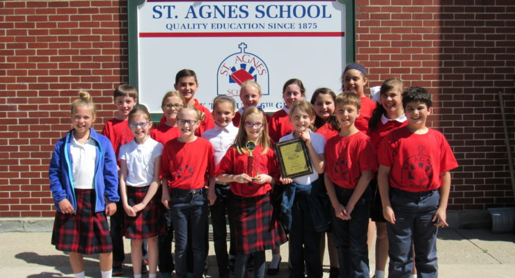 St. Agnes Kids are Returning Page Turners Champions