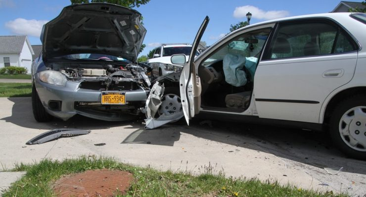 Driver Hits Parked Car in Avon