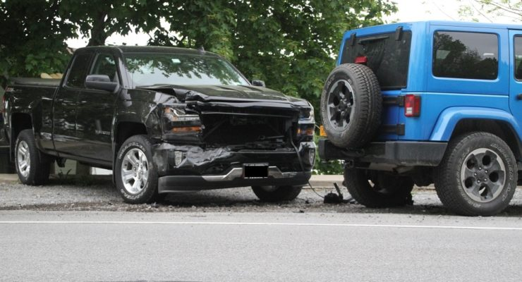 Driver Hits 2 Vehicles by Conesus Lake