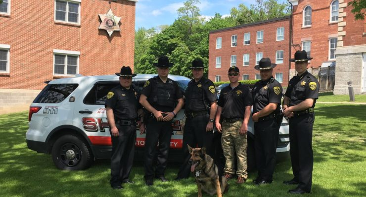 Sheriff's K9 'Oxo' Retires, Passing Torch to 'Kane'