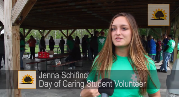 SUN VIDEO: Record-Breaking United Way Volunteer Force Touches Up Local Towns
