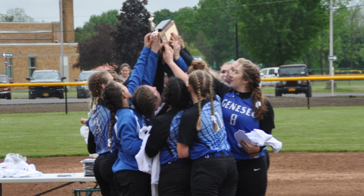 Ruskaff Delivers Geneseo's First Softball Title