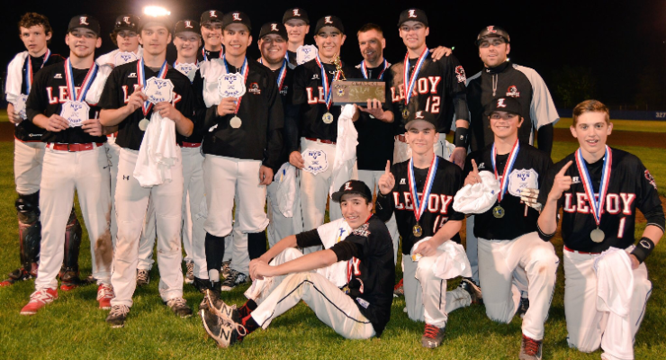 BASEBALL: LeRoy Wins Sectional Championship Over Geneseo