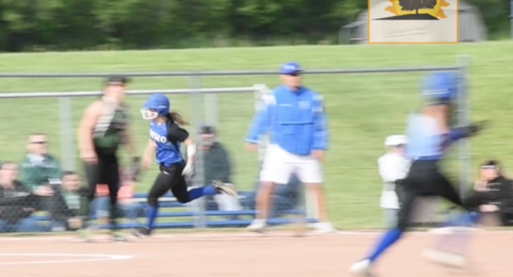 SUN VIDEO: Geneseo Advances in Pitching Duel