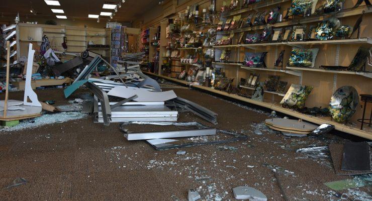 'It Sounded Like a Bomb:' Van Crashes Through Geneseo Hallmark Store
