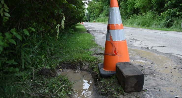 York Fixes Water Main Break Off Genesee Street