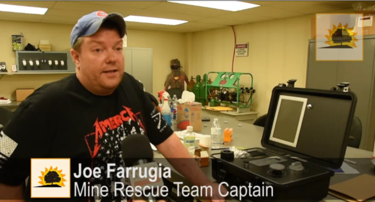 SUN VIDEO: American Rock Salt's Underground First Responders Dig Rescue Competitions