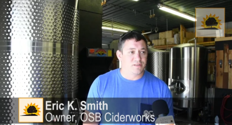 SUN VIDEO: Original Stump Blower Ciderworks Doubles Production with BrewINLivingston Award