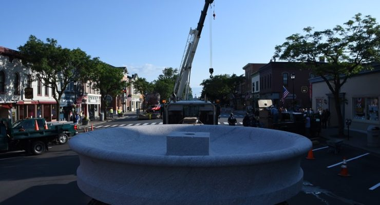 Bear Fountain, 'Symbol of Helping Others,' Returning to Geneseo