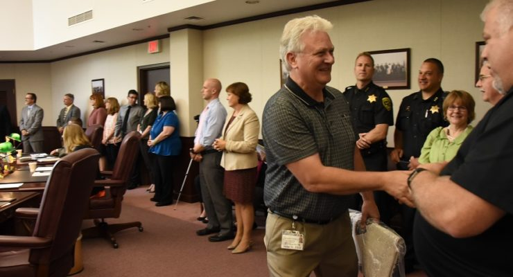 Livingston County Thanks Devoted Employees for 10 and 25 Years