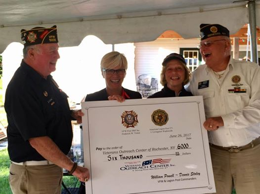 Veterans in Need Receive $6K from Geneseo VFW and American Legion at Golf Tournament