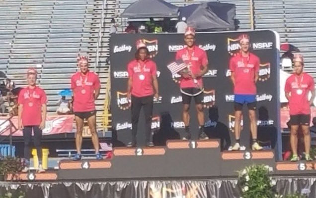 TRACK: Kyle Rollins Finishes 3rd Overall at Nationals